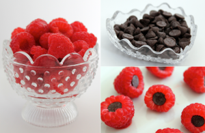 Chocolate Raspberry Snack Bites 1